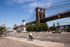 Siempre es buen momento para ir a la Brooklyn Ice Cream Factory y tomar un helado viendo Manhattan #nuevayork #brooklyn