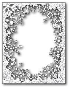 Memory Box - Die - Dancing Snowflake Frame