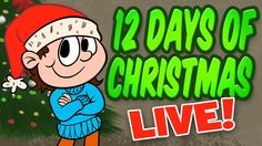 Christmas Songs for Children - 12 Days of Christmas Live performance with hand gestures!