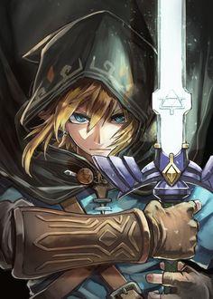 The Legend Of Zelda, Legend Of Zelda Memes, Legend Of Zelda Breath, Image Zelda, Zelda Video Games, Zelda Tattoo, Princesa Zelda, Master Sword, Link Art