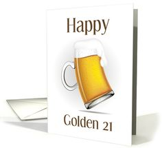 Champagne Birthday, Birthday Beer, 21st Birthday, Birthday Cards, Nana Gifts, Gifts For Boss, Gifts For Coworkers, Happy Boss's Day, Turning 21