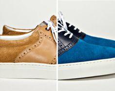 Saddle sneakers. I like em!