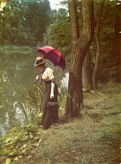 Early color photo c 1910