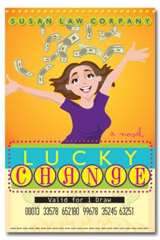 Lucky Change by Susan Corpany. Book Cover.