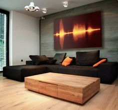Fancy - Resonant Decor Print by Vapor Sky...i really want the couch lol