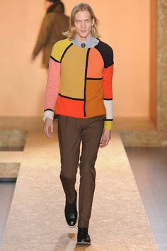 Color Explosion in the 2013 Fall/Winter Paul-Smith Collection
