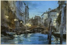簡忠威   I'm blessed that my work, One Night in Venice, has been selected by NWS for its 2014 Annual International Exhibition. Many thanks to the jurors to make me such an honor. I will keep working on my watercolor creations.  Just to tell everyone this good news, love you guys....  Chien Chung Wei.......2014.8.19  很幸運的,昨天收到美國NWS的電郵通知,今年我的新作『威尼斯之夜』入圍美國國家水彩協會NWS的2014國際年展。感謝各位評審委員給我這個機會,我會繼續努力畫出更好的水彩畫。