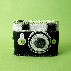 Camera Camera Case -Analogu (black/moss green) | Flickr - Photo Sharing!