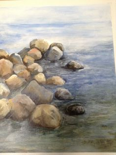 Breakwater Ladysmith BC My Arts, Painting, Painting Art, Paintings, Paint, Draw