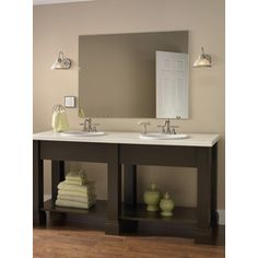 Pictures In Gallery mirror from Lowes