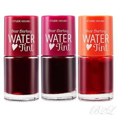 [ETUDE HOUSE] Dear Darling Water Tint 9.5g / 3 Colors A moist-fruity water tint #Etude