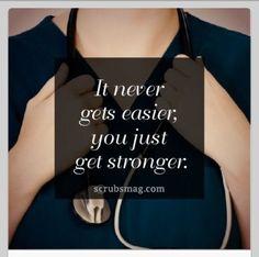 Gardner-Webb University  Nursing Quote Hasn't gotten easier yet... just more comfortable.
