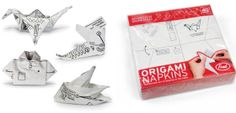 Fred and Friends Origami Napkins