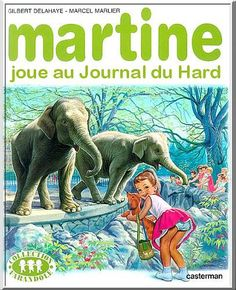 Martine is the title character in a series of books for children written in French by the Belgians Marcel Marlier and Gilbert Delahaye and edited by Casterman. Marcel, Lucky Luke, Chica Anime Manga, Funny Pins, Cute Drawings, Caricature, Dachshund, Martini, Childrens Books