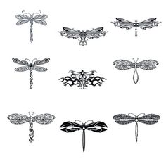 Art Dragonfly Tattoo Designs - Tattoos - Zimbio