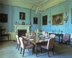 Wrotham Park dining room ~ SENSE & SENSIBILITY filmed here