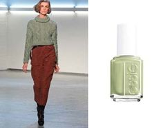 #NYFW inspired nail colors