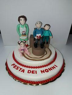 Torta festa dei nonni cake