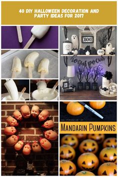 40 DIY Halloween Decoration and Party Ideas for 2017 Halloween Decoration 40 DIY Halloween Decoration and Party Ideas for 2017