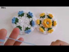 Crochet Flowers, Elsa, Diy And Crafts, Crochet Patterns, Make It Yourself, Wool, Crochet Leaves, Ganchillo, Tejidos
