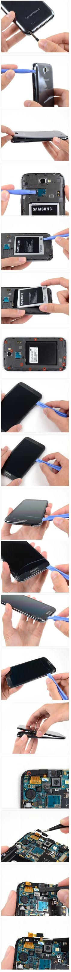 #How_To_Repair_Samsung_Galaxy_Note_II_#Front_Facing_Camera - #STEP BY STEP #TUTORIAL
