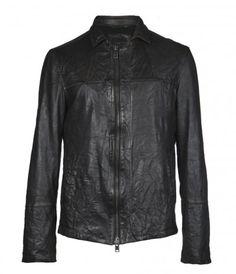 Helix Leather Jacket. $520