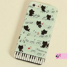 Cat-Print iPhone 4/4s/5/5s Case from #YesStyle <3 Cuteberry YesStyle.com.au