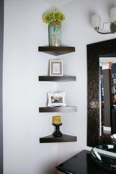 How To Build A Corner Shelf By HouseofRoseBlog.com - Video Tutorial
