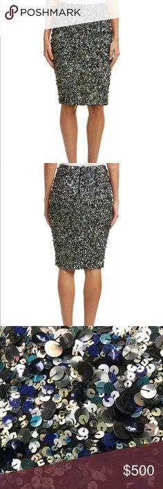 Haute Hippie sequin pencil skirt Such a special skirt! Perfect for NYE :) Haute Hippie Skirts Pencil