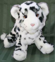 Douglas Irbis SNOW LEOPARD Plush Wildcat Stuffed Animal Cuddle Toy Wild Cat  #Douglas