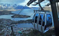 Queenstown, New Zealand. Skyline Gondola