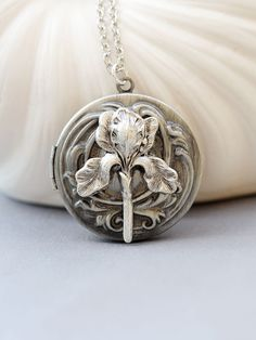 FB Jewels Solid 925 Sterling Silver Antiqued Stacked Elephants Engraved Pendant