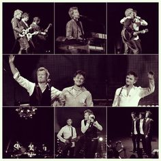 The one and only a-ha :) Proud to be a Norwegian! #a-ha #mortenharket #magnefuruholmen #paulwaaktaarsavoy #farewelltour #oslospektrum #popband