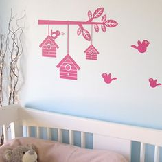 Beautiful wall decal from My Munchkin Home