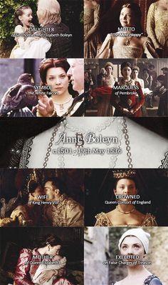 Anne Boleyn - The Tudors Asian History, Women In History, British History, Dinastia Tudor, Los Tudor, Wives Of Henry Viii, King Henry Viii, Strange History, History Facts