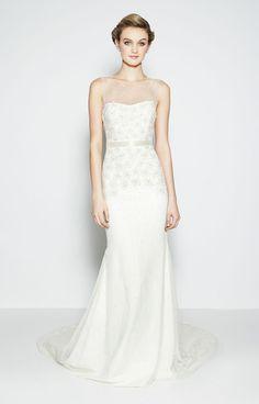 Nicole Miller wedding dress. Bridal 2400
