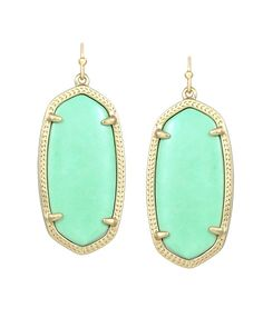 Elle Earrings in Mint - Kendra Scott Jewelry