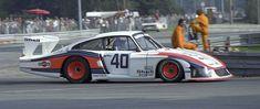 """Moby Dick"", die 1978er Version des Porsche 935 am Norisring. Wenn man genau hinschaut, erkennt man noch den 911er darin…"