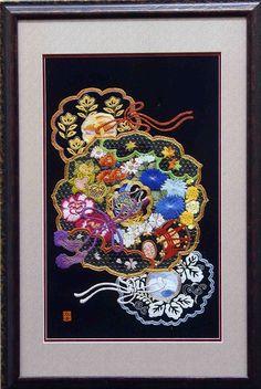 田代幸子さんの日本刺繍作品