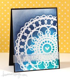 Ink Blending Over Intricate Stencil – Make a Card Monday #247