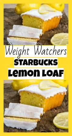 weight watchers Starbucks Lemon Loaf - Weight watchers recipes Source by desserts desserts easy desserts healthy desserts recipes Weight Watcher Desserts, Weight Watchers Kuchen, Weight Watchers Diet, Weight Watchers Muffins, Weight Watchers Cupcakes, Weight Watchers Appetizers, Weight Watcher Cookies, Ww Desserts, Healthy Desserts