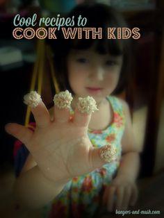 cool recipes to cook with kids // recetas para hacer con niños