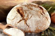 Receita de Pão italiano crocante - Comida e Receitas