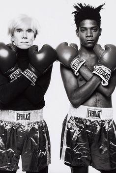 Warhol x Basquiat