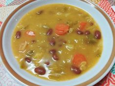 Portugal, Portuguese Recipes, Portuguese Food, Bean Soup Recipes, Summer Squash, Cheeseburger Chowder, Yummy Food, Delicious Meals, Anita