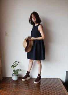 Ribbonjuhee in asian style азиатская мода, мода от k, японский Korean Fashion Trends, Korea Fashion, Asian Fashion, Look Fashion, Daily Fashion, Trendy Fashion, Girl Fashion, Fashion Outfits, Womens Fashion