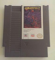 Gauntlet II NES Video Game Cartridge Nintendo Entertainment System Tested Retro #Gauntlet #RetroGaming #NES