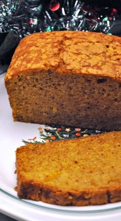 Sub in gF recipe Pumpkin Bread or, in my case, Butternut Squash Bread. Either way - easy and delicious and perfect for holiday teas Butternut Squash Bread, Winter Squash Bread Recipe, Healthy Butternut Squash Recipes, Baking Recipes, Dessert Recipes, Dessert Bread, Pumpkin Bread, Scones, Sweet Bread