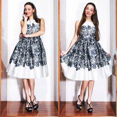 dress, headpiece - Dolce&Gabbana, shoes Prada