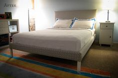 UPDATE: Having lived with the bed for over a year, there are a couple of minor things I would have done differently - read more about that h...